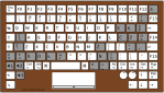 Laptop universal keyboard